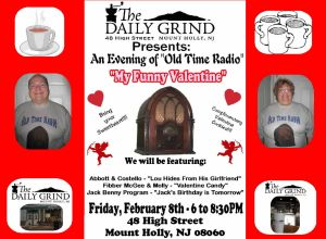 Daily Grind My Funny Valentine FB Sign