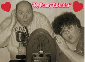 Helen & Johnny - My Funny Valentine Sign