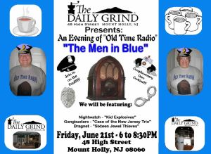 Daily Grind FB Sign-Men in Blue