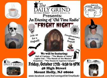 01) Daily Grind-Helen & Johnny - OTR-Fright Night 2014