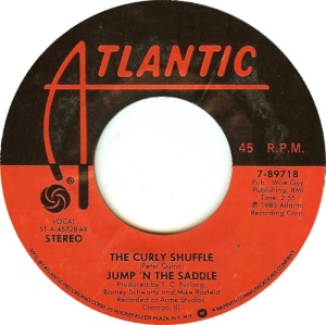 Curly Shuffle 45 Record
