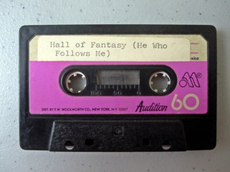 Hall of Fantasy Cassette