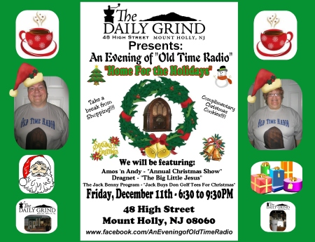 Daily Grind Home For the Holidays FB Sign (2015)