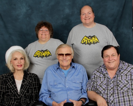 'Batman' Group with Helen & Johnny