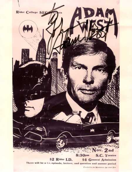 Adam West-Rider College (1985)