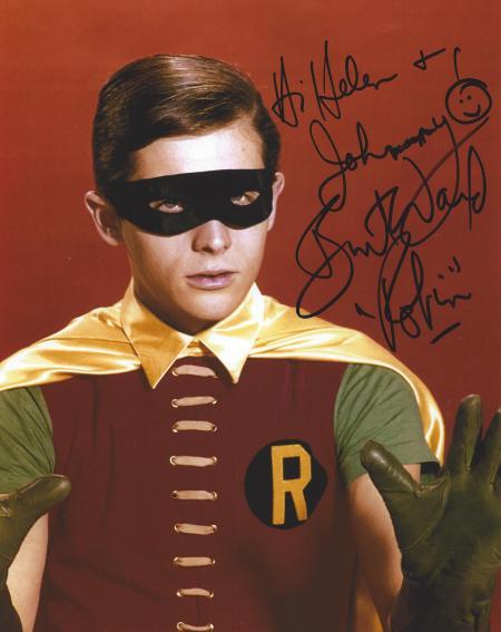 Burt Ward (Robin)