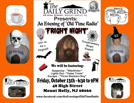 Daily Grind FB Sign-Fright Night 2017