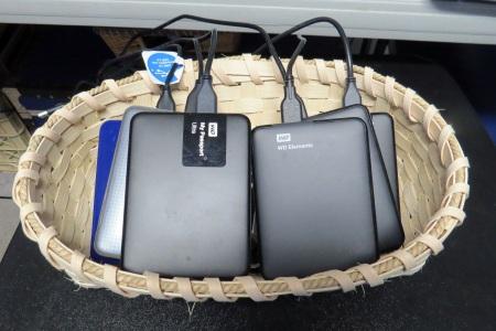 Baket of Hard drives.JPG