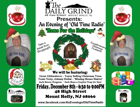 Daily Grind Home For the Holidays FB Sign - 2017