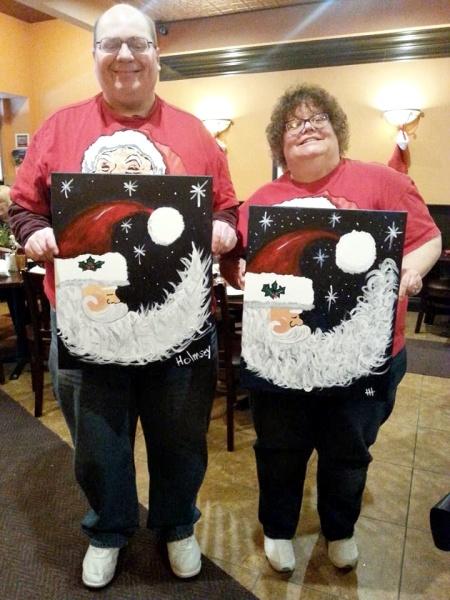 JH & HH - Santa Painting