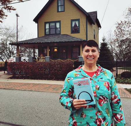 Joanna Wilson at 'A Christmas Story' House