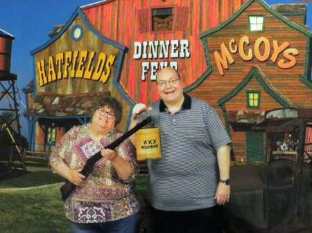"015 - ""Hatfield and McCoy"" dinner show"