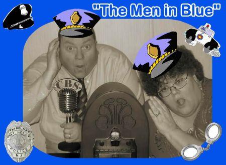 Helen & Johnny - OTR-Men in Blue-New