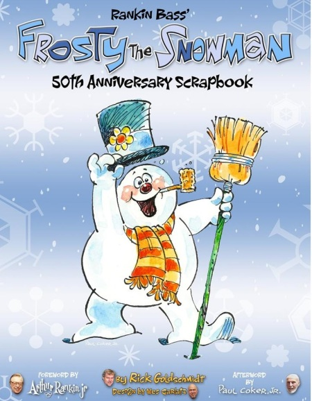 Frosty the Snowman 50th Anniversary Scrapbook