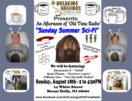 Breaking Grounds FB Sign - Sunday Summer Sci-Fi (2019)