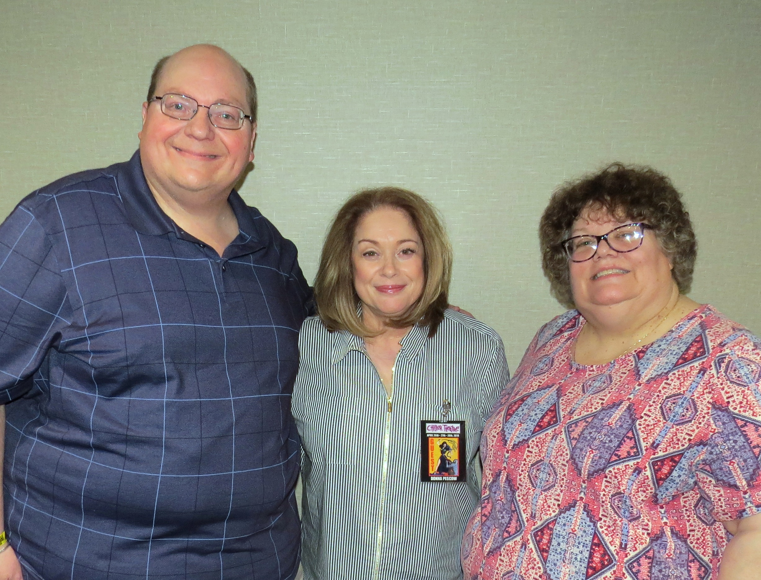 020 Donna Pescow with Helen & Johnny