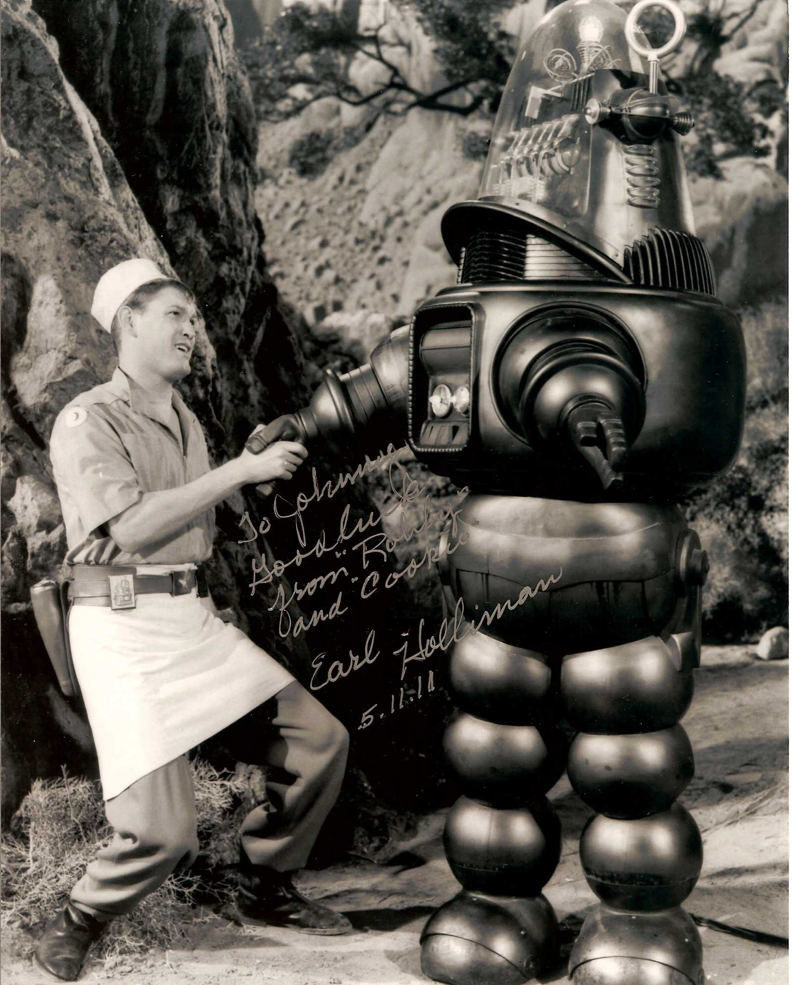 (2) Earl Holliman - Forbidden Planet