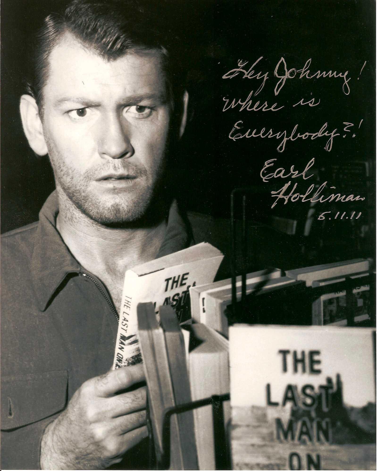(3) Earl Holliman - The Twilight Zone